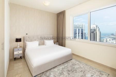Furnished 1 Bedroom Hotel Apartment in Barcelo Residences Dubai Marina