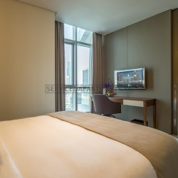 Furnished 1 Bedroom Hotel Apartment in Intercontinental Dubai Marina