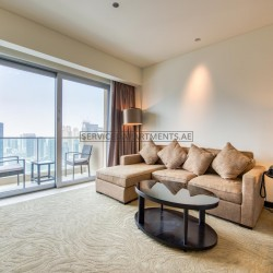 Furnished 1 Bedroom Hotel Apartment in The Address Dubai Marina Residences