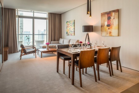 Furnished 3 Bedroom Hotel Apartment in Intercontinental Dubai Marina