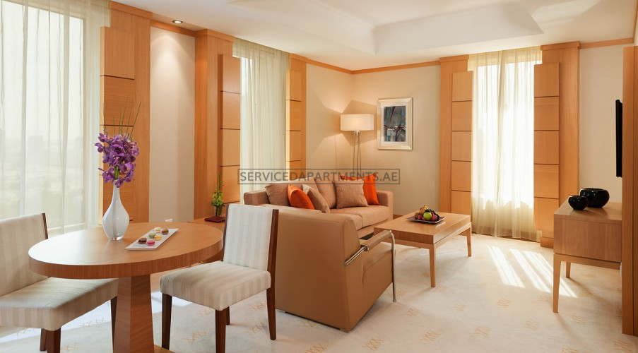Furnished 1 Bedroom Hotel Apartment in Carlton Downtown