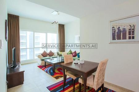Furnished 1 Bedroom Hotel Apartment in Dusit Residence Dubai Marina