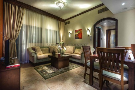 Furnished 1 Bedroom Hotel Apartment in First Central Hotel Suites