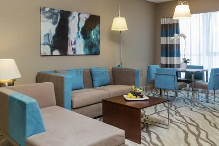 Furnished 1 Bedroom Hotel Apartment in Novotel Hotel Al Barsha