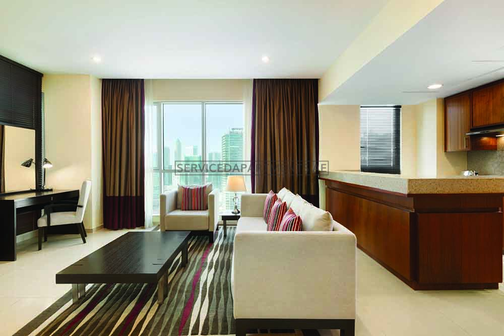 1 Bedroom Serviced Hotel Apartments For Rent In Dubai