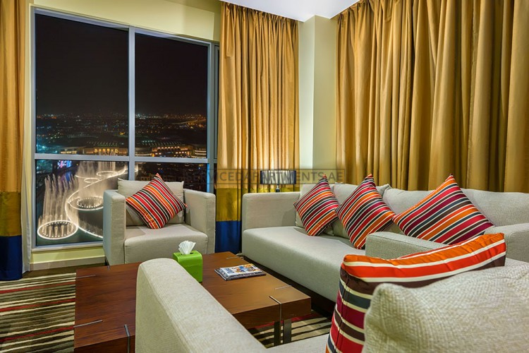 Furnished 1 Bedroom Hotel Apartment in Ramada Downtown Dubai