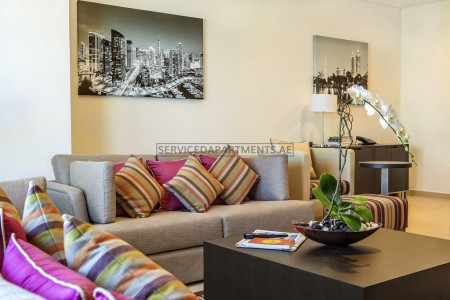 Furnished 2 Bedroom Hotel Apartment in Adagio Premium Hotel Apartment