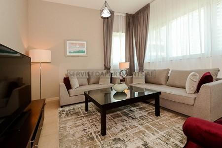 Furnished 2 Bedroom Hotel Apartment in Dusit Residence Dubai Marina