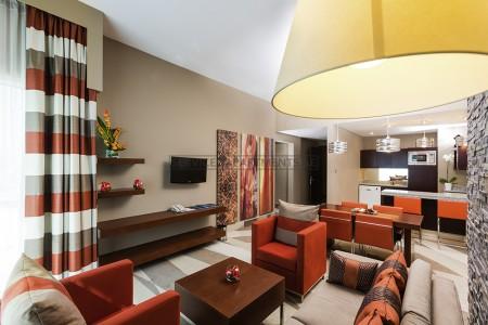 Furnished 2 Bedroom Hotel Apartment in Novotel Hotel Al Barsha