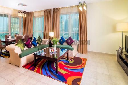 Furnished 3 Bedroom Hotel Apartment in Dusit Residence Dubai Marina