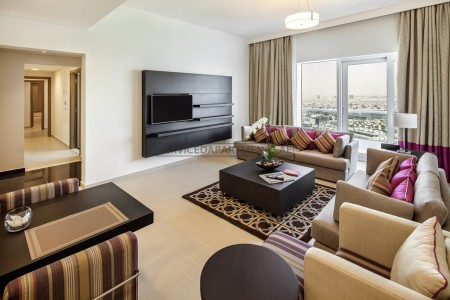 Furnished 4 Bedroom Hotel Apartment in Adagio Premium Hotel Apartment