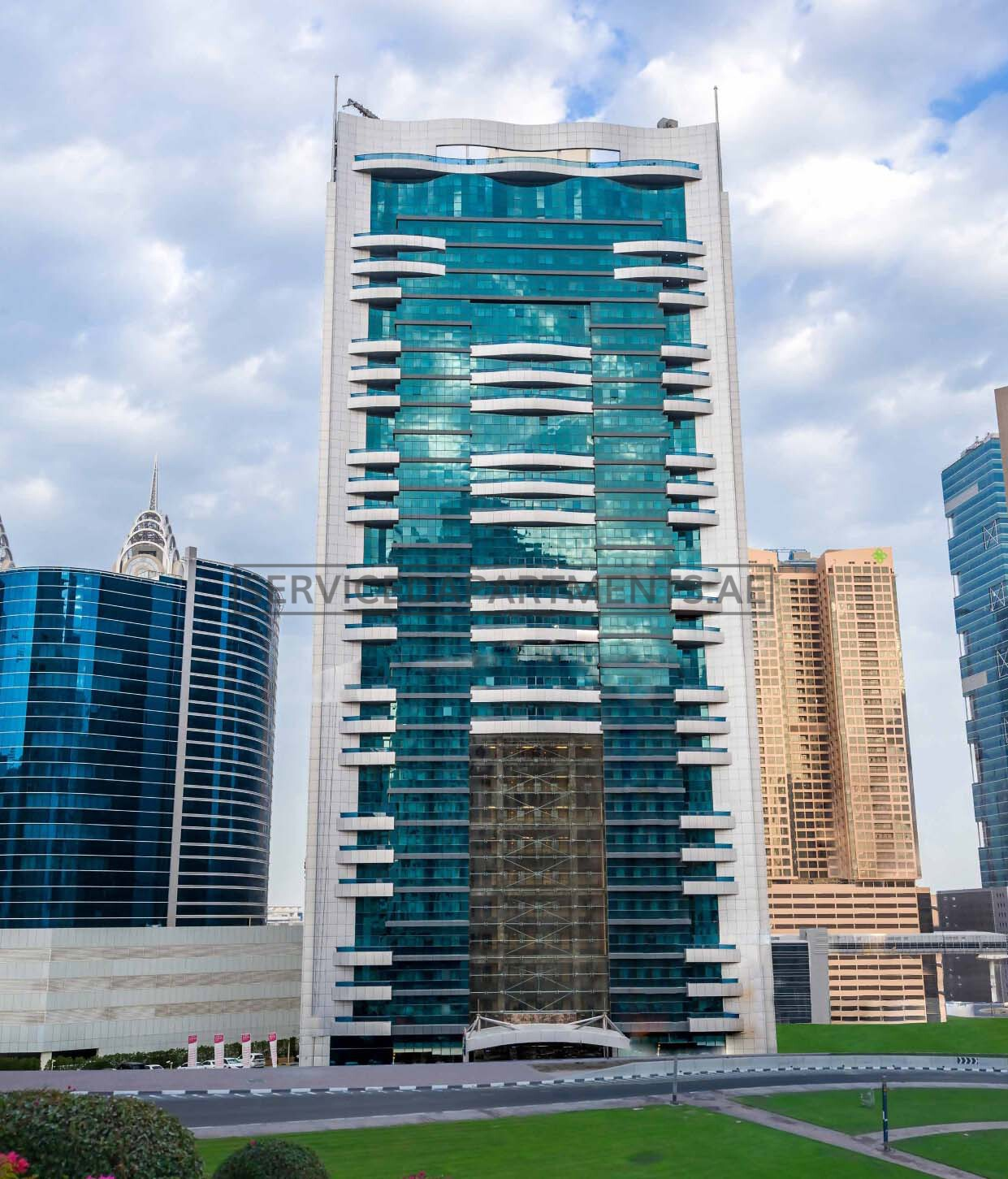 Furnished Studio Apartments: Studio Serviced Hotel Apartments For Rent In Dubai