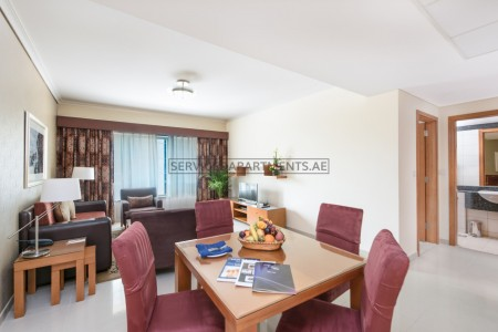 Furnished 1 Bedroom Hotel Apartment in AlSalam Hotel Suites
