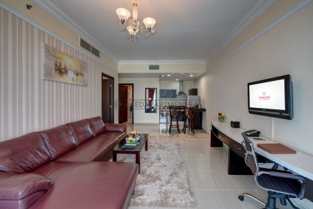 Furnished 1 Bedroom Hotel Apartment in Emirates Grand Hotel Apartments