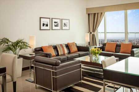Furnished 1 Bedroom Hotel Apartment in Four Points by Sheraton Sheikh Zayed Road