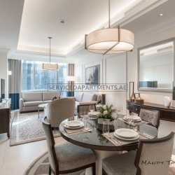 Furnished 1 Bedroom Hotel Apartment in The Address Boulevard