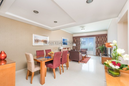Furnished 2 Bedroom Hotel Apartment in AlSalam Hotel Suites
