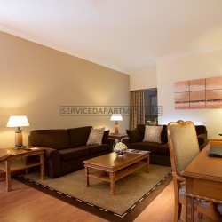 Furnished 2 Bedroom Hotel Apartment in Crowne Plaza Dubai