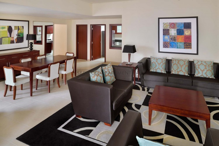 Furnished 2 Bedroom Hotel Apartment in Delta Hotels by Marriott Jumeirah Beach