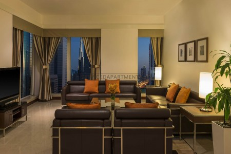 Furnished 2 Bedroom Hotel Apartment in Four Points by Sheraton Sheikh Zayed Road