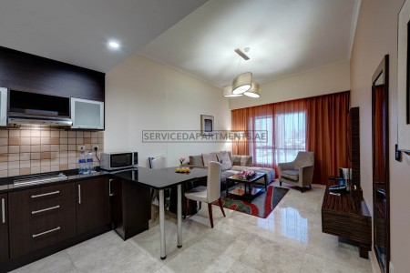 Furnished 2 Bedroom Hotel Apartment in Ghaya Grand Hotel Dubai