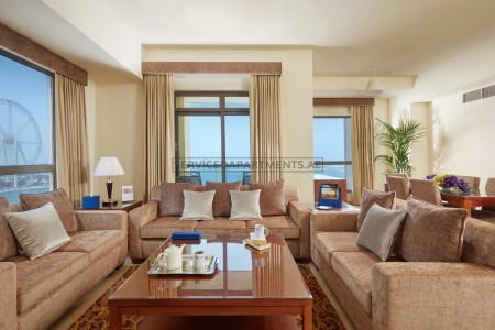 Furnished 2 Bedroom Hotel Apartment in Roda Amwaj Suites