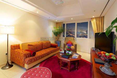 Furnished 2 Bedroom Hotel Apartment in Tamani Marina Hotel