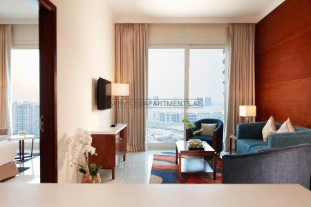 Furnished 2 Bedroom Hotel Apartment in Treppan Hotel & Suites by Fakhruddin