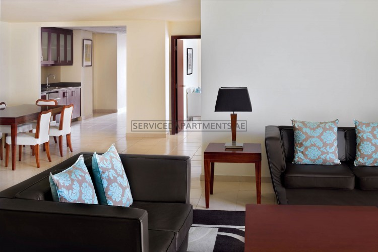 Furnished 3 Bedroom Hotel Apartment in Delta Hotels by Marriott Jumeirah Beach