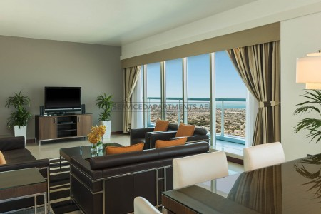 Furnished 3 Bedroom Hotel Apartment in Four Points by Sheraton Sheikh Zayed Road