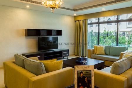 Furnished 3 Bedroom Hotel Apartment in Roda Beach Resort