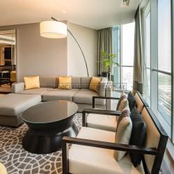 Furnished 3 Bedroom Hotel Apartment in Sheraton Grand Hotel Dubai