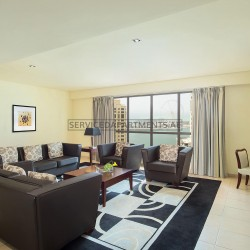Furnished 4 Bedroom Hotel Apartment in Delta Hotels by Marriott Jumeirah Beach