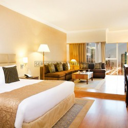 Furnished Studio Hotel Apartment in Crowne Plaza Dubai