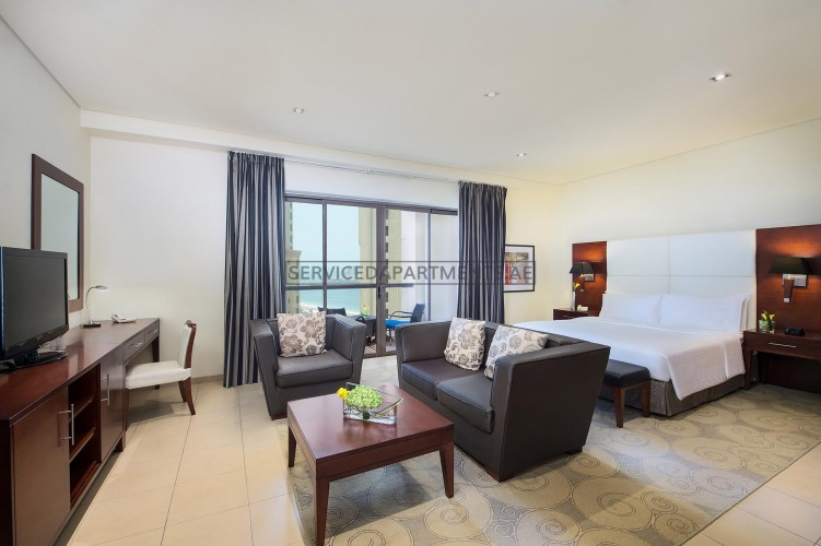 Furnished Studio Hotel Apartment in Delta Hotels by Marriott Jumeirah Beach