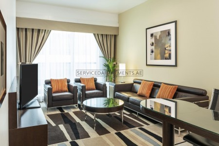 Furnished Studio Hotel Apartment in Four Points by Sheraton Sheikh Zayed Road