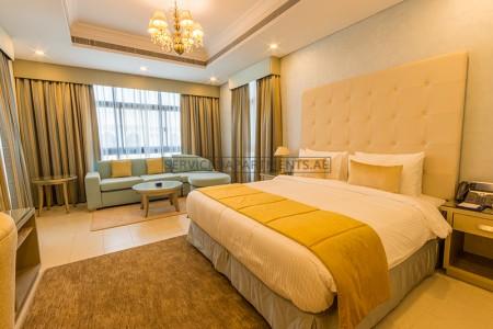 Furnished Studio Hotel Apartment in Roda Beach Resort