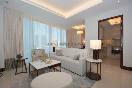 Furnished 1 Bedroom Hotel Apartment in Address Sky Views Residences
