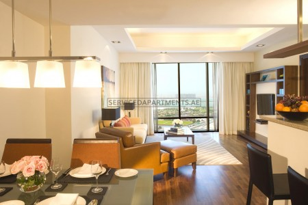 Furnished 1 Bedroom Hotel Apartment in Fraser Suites Dubai