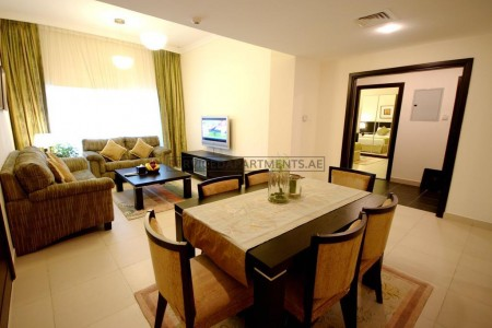 Furnished 1 Bedroom Hotel Apartment in Gulf Oasis Hotel Apartments