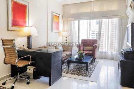Furnished 1 Bedroom Hotel Apartment in Mercure Dubai