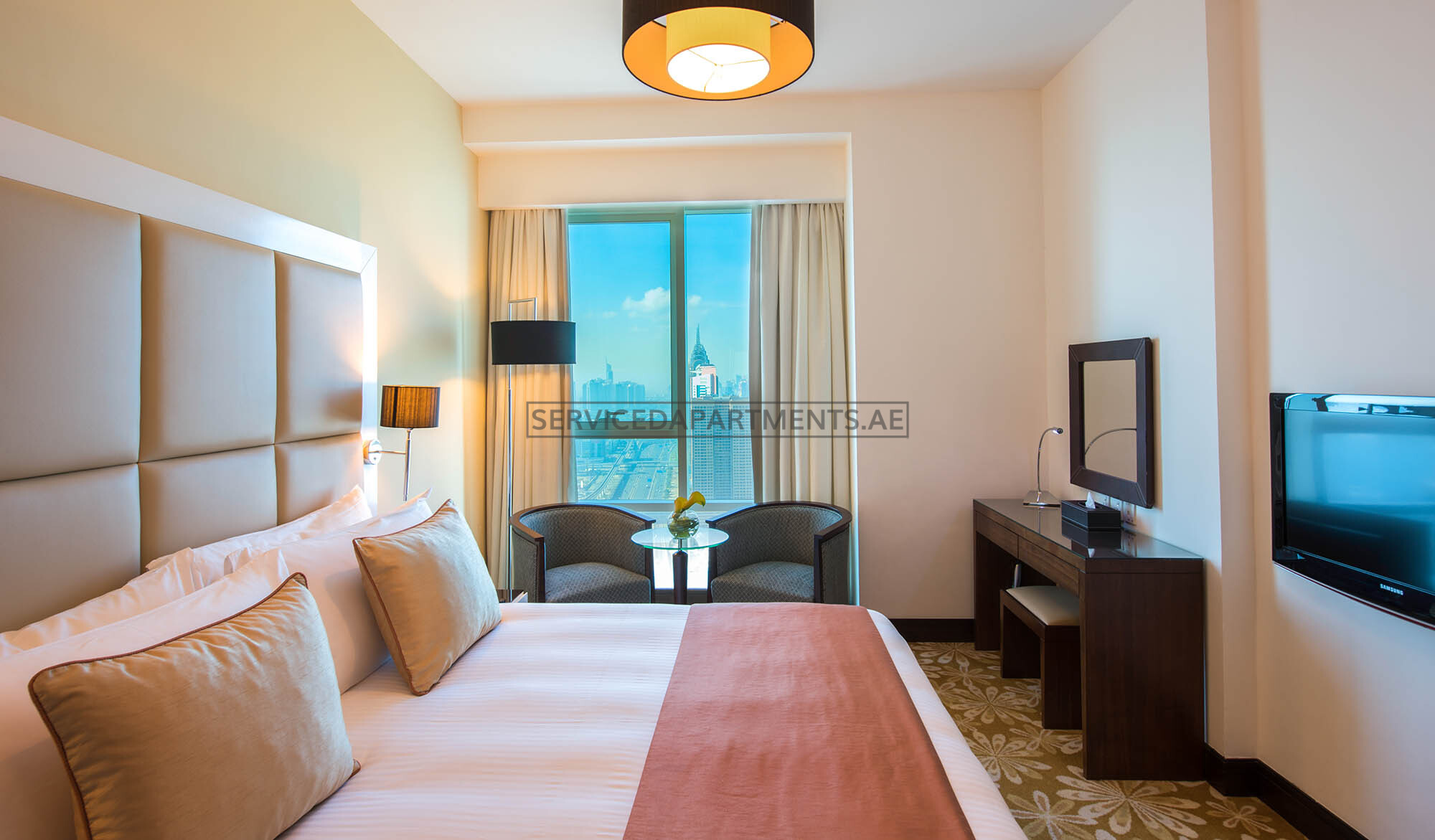 2 Bedroom Serviced Hotel Apartments for Rent in Dubai