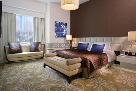 Furnished 3 Bedroom Hotel Apartment in Fraser Suites Dubai
