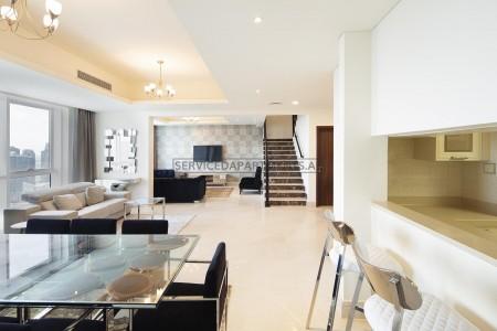 Furnished 4 Bedroom Hotel Apartment in Barcelo Residences Dubai Marina