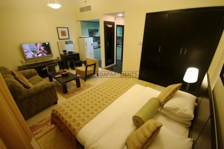 Furnished Studio Hotel Apartment in Gulf Oasis Hotel Apartments