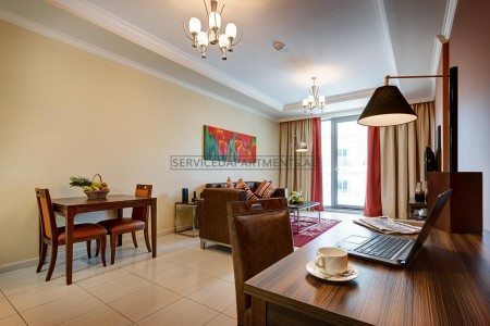 Furnished 1 Bedroom Hotel Apartment in Abidos Hotel Apartments Dubailand