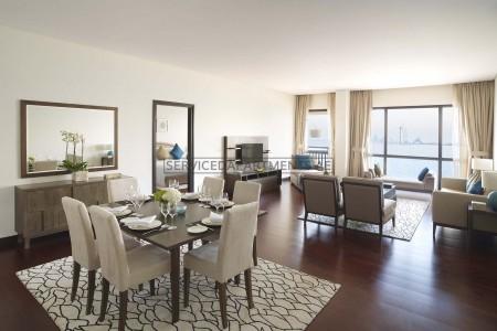 Furnished 1 Bedroom Hotel Apartment in Anantara The Palm Dubai Resort