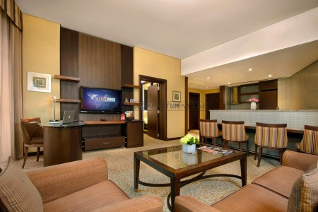 Furnished 1 Bedroom Hotel Apartment in Time Oak Hotel & Suites
