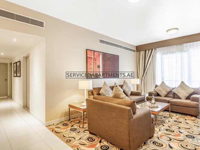 Furnished 2 Bedroom Hotel Apartment in Golden Sands Hotel Apartments 10