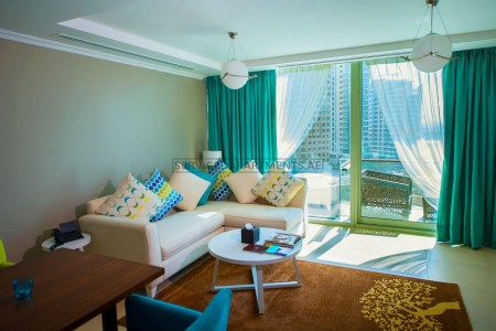 Furnished 2 Bedroom Hotel Apartment in Jannah Place Dubai Marina